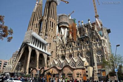 Basz003-La Sagrada Familia-elewacja zachodnia