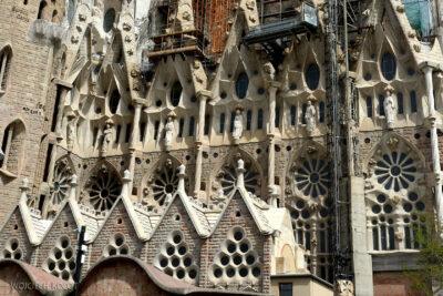 Basz004-La Sagrada Familia-elewacja zachodnia
