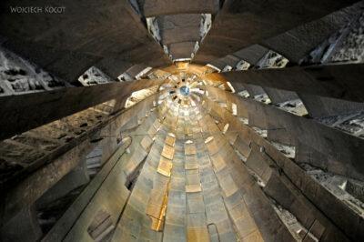 Basz018-La Sagrada Familia-w wieżach zachodnich