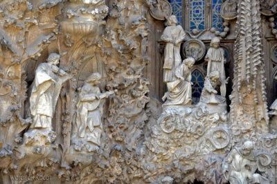 Basz044-La Sagrada Familia-fasada Bożego Narodzenia-wschodnia