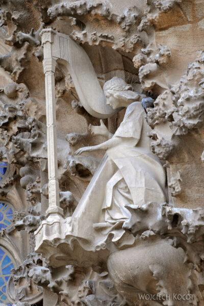 Basz054-La Sagrada Familia-fasada Bożego Narodzenia-wschodnia