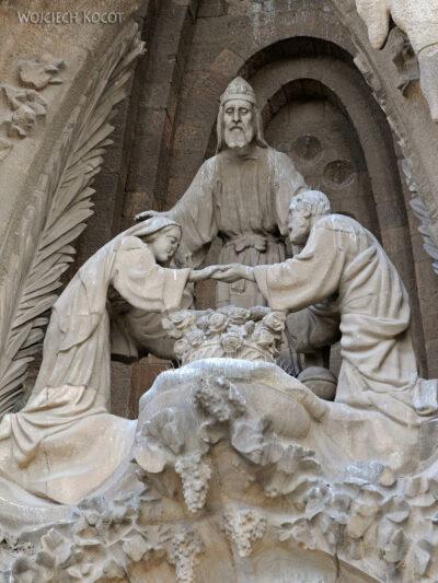 Basz061-La Sagrada Familia-fasada Bożego Narodzenia-wschodnia