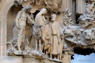 Basz065-La Sagrada Familia-fasada Bożego Narodzenia-wschodnia