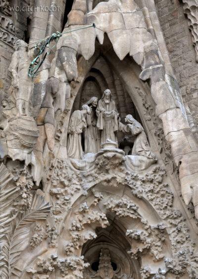 Basz068-La Sagrada Familia-fasada Bożego Narodzenia-wschodnia