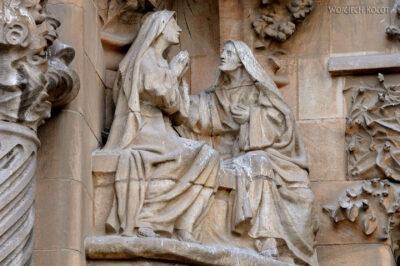 Basz072-La Sagrada Familia-fasada Bożego Narodzenia-wschodnia