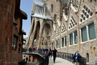 Basz076-La Sagrada Familia-ściana zachodnia