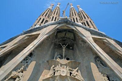 Basz078-La Sagrada Familia-fasada Męki Pańskiej-zachodnia