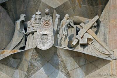 Basz082-La Sagrada Familia-fasada Męki Pańskiej-zachodnia