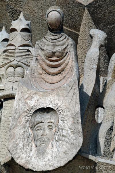 Basz083-La Sagrada Familia-fasada Męki Pańskiej-zachodnia