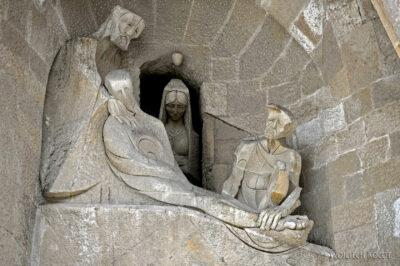 Basz090-La Sagrada Familia-fasada Męki Pańskiej-zachodnia