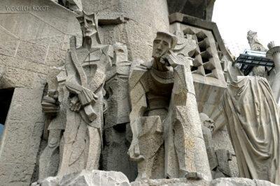 Basz093-La Sagrada Familia-fasada Męki Pańskiej-zachodnia