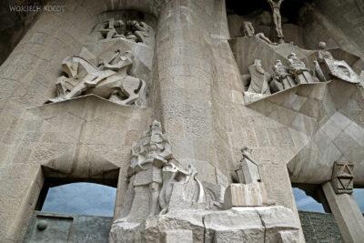 Basz094-La Sagrada Familia-fasada Męki Pańskiej-zachodnia