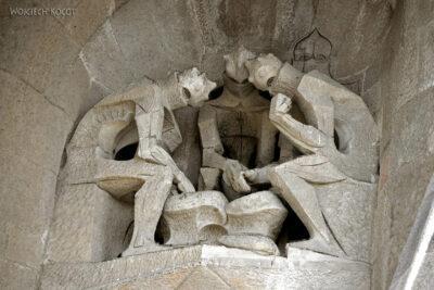 Basz096-La Sagrada Familia-fasada Męki Pańskiej-zachodnia