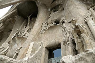 Basz097-La Sagrada Familia-fasada Męki Pańskiej-zachodnia