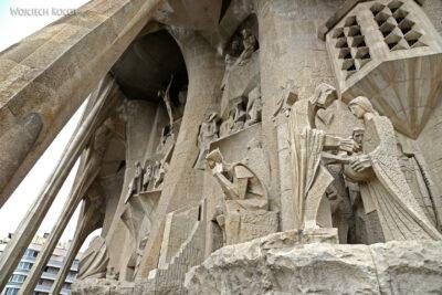 Basz098-La Sagrada Familia-fasada Męki Pańskiej-zachodnia