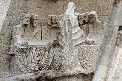 Basz101-La Sagrada Familia-fasada Męki Pańskiej-zachodnia