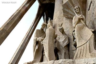 Basz102-La Sagrada Familia-fasada Męki Pańskiej-zachodnia