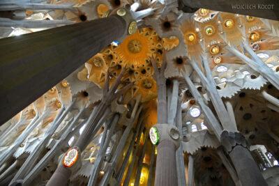 Basw001-La Sagrada Familia-wnętrze